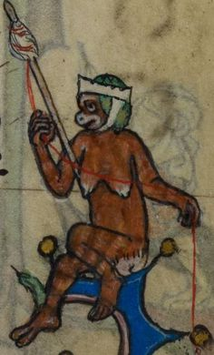 Detail from medieval manuscript, British Library Stowe MS 17 'The Maastricht Hours', f114r