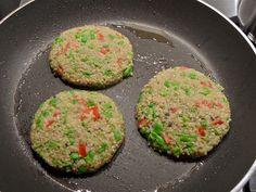 gezonde, vegetarische hambugers