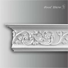 H&K Goodware are Polyurethane carved crown molding supplier, We have decades of experience providing quality architecture goods to customers Decor, Moldings And Trim, Foam Crown Molding, Ceiling Decor, Classic Ceiling, Gate Wall Design, Ceiling Design, Wainscoting Panels, Wall Design