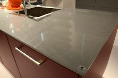 #Silestone Steel  Stand: Häcker #Eurocucina #DesignWeek