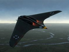 Hitler's stealth 'flying wing' bomber