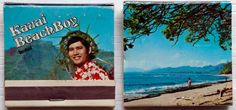 Kauai Boy Hotel #matchbooks - To design & order your business' own logo #matches GoTo: GetMatches.com #phillumeny
