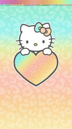#digitalcutewalls Hello Kitty Iphone Wallpaper, Hello Kitty Backgrounds, Cute Wallpaper Backgrounds, Pink Wallpaper, Cute Wallpapers, Phone Wallpapers, Melody Hello Kitty, Hello Kitty Images, Matching Wallpaper