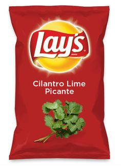 Wouldn't Cilantro Lime Picante be yummy as a chip? Lay's Do Us A Flavor is back, and the search is on for the yummiest flavor idea. Create a flavor, choose a chip and you could win $1 million! https://www.dousaflavor.com See Rules.