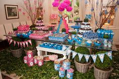 A pretty gender reveal party