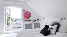Bilderesultat for republique plakat Dream Bedroom, Home Decor Bedroom, Bedroom Modern, Master Bedroom, Small Space Living, Living Spaces, Cottages For You, Interior Design Magazine, Space Furniture