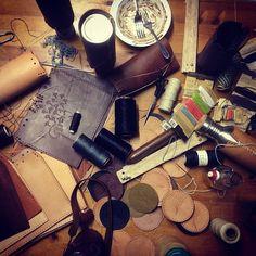 Busting it out. #workdesk #stitching #myvesica #artisanalley #hemp #handmade #vesica #myvesica #festivalprep #madewlove #waterbottle  www.vesica.com.au