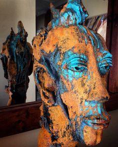 Janko de Beer Sculptures, Lion Sculpture, South African Artists, Natural Shapes, Embedded Image Permalink, Sculpting, Beer, Bronze, Statue
