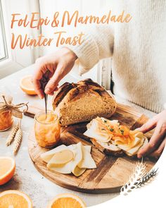 Une recette pleine de saveurs et de réconfort qui associe les notes acidulées de la confiture d'orange aux notes fruitées Fol Epi. #FolEpi