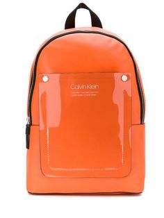 Calvin Klein Vinyl Logo Patch Backpack - Farfetch