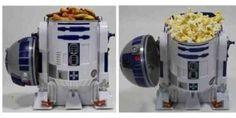 funny star wars r2-d2 snack popcorn holder