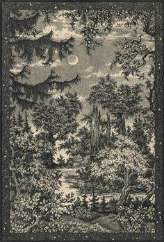 Mondlandschaft (Hermann Wöhler, 1931)
