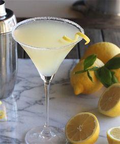 The Perfect Lemon Drop Martini 3 | The Hopeless Housewife