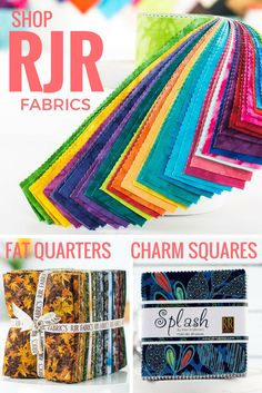 Enjoy bold prints and high quality with RJF Fabrics! Browse over 80+ unique RJR Fabrics designs on Craftsy today, and find the color and pattern that's perfect for your next project. With Craftsy, you'll get big savings on your favorite brands and enjoy the convenience of fabric shipped straight to your door.