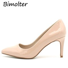 Find More Women s Pumps Information about Bimolter 2018 New Fashion High  Heels Women Pumps Thin Heel Nude Sexy Female Wedding Shoes Classic Ladies  Office ... 16f280dd5c
