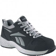 Reebok Womens Composite Toe Sport Work Shoe - - Composite Toe with Nubuck  upper e867dd7bf