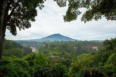 The mountains in Bukittinggi #Indonesia