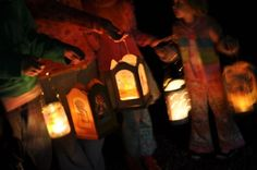 A Thanksgiving Blessing and the Waldorf Tradition of Lantern Walk - The Magic Onions