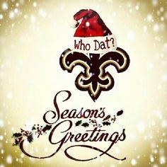 Seasons Greetings Saints Fans
