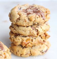 Loaded peanut butter cookie