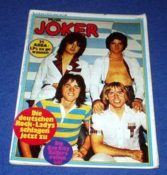 RAR: JOKER 2-1978 BAY CITY ROLLERS UDO LINDENBERG ABBA DAVID BOWIE TINA TURNER   eBay