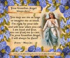 YOUR GUARDIAN ANGEL Angel Blessings - Poems - Prayers - Vintage style images - Page 2