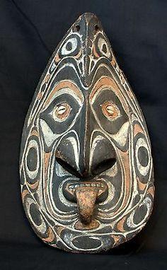 Papua New Guinea Sepik River Savi Wooden Mask Iatmul   eBay