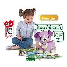 LeapFrog - Lis avec Violette  - marque : Leapfrog La 1ère peluche « compagnon de lecture » pour les 2 ans et + !Lis avec Violette est une adorable peluche qui offrira à votre enfant une introduction amusante et interactive à ... prix : 44.99 €  chez Toys R us #Leapfrog #ToysRus