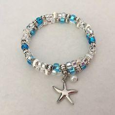 Ocean Bracelet Starfish with Pearl Bracelet Beach Bracelet