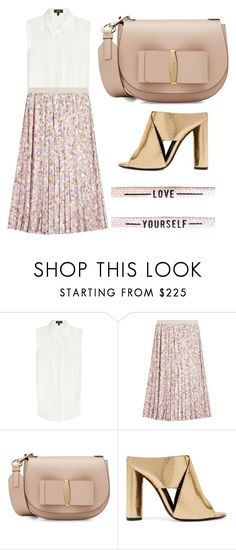 """Love Yourself"" by cherieaustin ❤ liked on Polyvore featuring Theory, Agnona, Salvatore Ferragamo and Tom Ford"