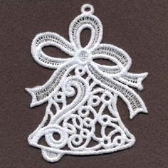 FSL Filigree Christmas 9 - 4x4 | What's New | Machine Embroidery Designs | SWAKembroidery.com Ace Points Embroidery