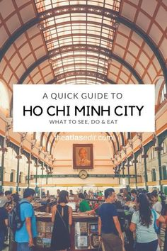Quick Guide to Ho Chi Minh City https://www.solitarytravels.com #SolitaryTravels
