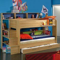 Cute bunk bed idea