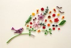 Paper quilling When I sing by Hyvoky on Etsy
