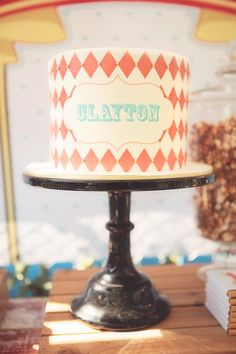 Claytons Circus Soiree Birthday Party