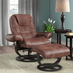 Recliner With Ottoman, Modern Recliner, Swivel Recliner, Colored Dining Chairs, Soft Seating, Leather Ottoman, Upholstered Sofa, Luxury Furniture, Upholstery