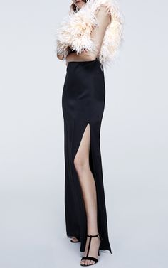 Feathered Bodice Gown by LANVIN for Preorder on Moda Operandi
