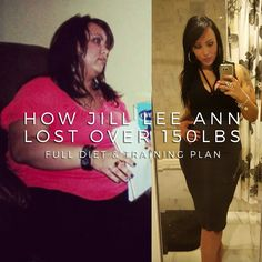 Jill Lee Ann aka jillleeannsjourney_ on Instagram started her weight loss journey at over 350lbs and realised she had to make a change. One day she woke up and decide she didn't want to keep going on this way and immediately started eating healthier and working out. Jill was kind enough to detail exactly how she did it, listing an example of her daily meal plan and the weekly training that she did to help her lose almost half her bodyweight. Be sure to follow Jill on Instagram for more…