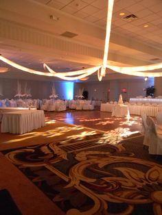 Winter Wedding Wonderland at the Hilton Garden Inn Pittsburgh/Southpointe, Canonsburg, PA