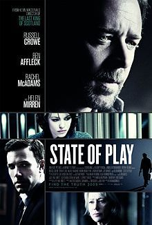 """Good movie. A """"modern day"""" Pelican Brief. With plot twists and action scenes. Russel Crowe tells us that he's actually a person. A person with bad eating habits who feels fear but won't stop without setting true wrongs, right. I don't think he's ever played a character quite like this. It's fun to watch. Well made, although McAdams could use a little bit of help, it's still a good movie all around and one I enjoy watching."""
