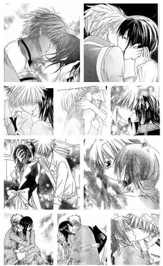 Kisses in Kaichou wa Maid sama ♡ You don't realize how much I wish I was her...
