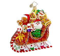 Santa and Cookie Man, Radko Style# 1015430