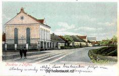 Synagoga v Nýřanech, 1899, pohlednice