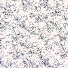 Jersey Blütenfroh 2 - Viskose - Elasthan - rosa