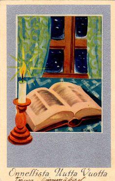 """HANS BJÖRKLIND """"UKKO"""" Christmas, Cards, Painting, Vintage, Xmas, Picasa, Painting Art, Navidad, Paintings"""