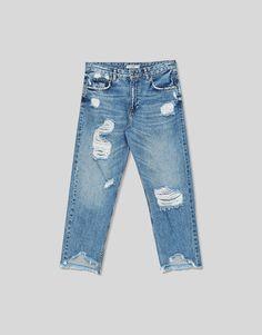 Black or blue jeans