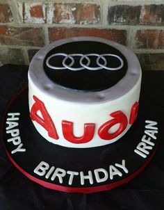 Audi Cake by Max Amor Cakes.