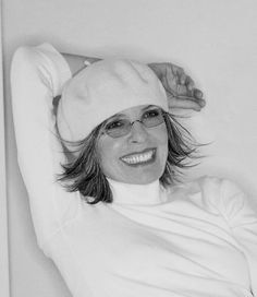 The style of  Diane Keaton or How to wear a beret!  Not always ala francais.