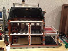 Lego moc modular dollhouse
