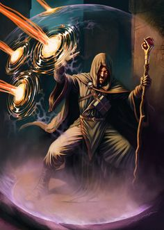 Mago, abjuração, escudo arcano, escudo mágico, escudo da fé, proteção
